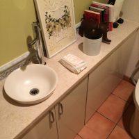 カウンター手洗・水栓交換