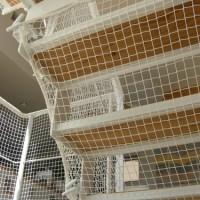 階段ネット(転落防止)工事(逗子市 O様邸)4