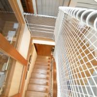 階段ネット(転落防止)工事(野比 N様邸)2