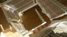 階段ネット(転落防止)工事(逗子市 O様邸)6