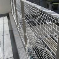 階段ネット(転落防止)工事(逗子市 O様邸)3