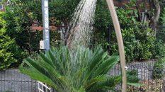 シンプルな水栓柱をご提案