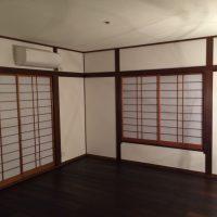 1階旧和室を洋室化完成