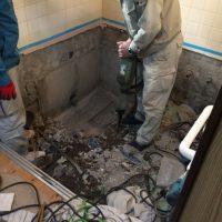 在来浴室 最小限解体