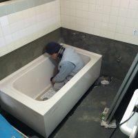 浴槽セット中