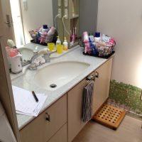 移設前の洗面台